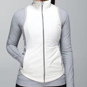 Lululemon Rebel Runner Vest Hyper Stripe Heathered